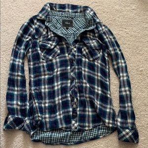 Soft and cozy Rails flannel